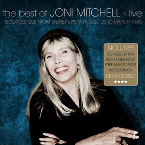 The Best Of Joni Mitchell - Live & Remastered - Sydney Opera House 23 March 1983 Albumcover