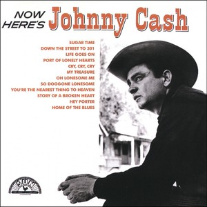 Now Here's Johnny Cash Albumcover