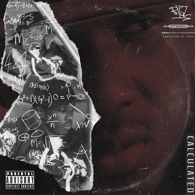 Album cover for Calculated by Rigz