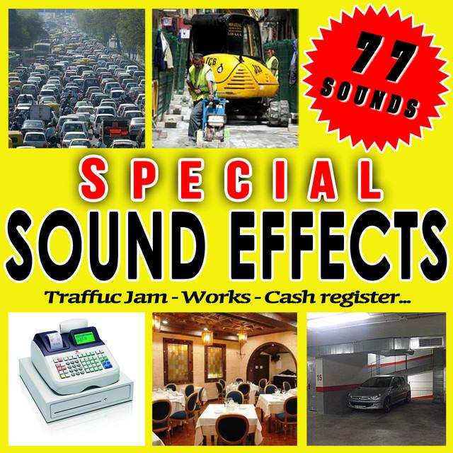 Traffic Jam, Works, Cash Register    Special Sound Effects