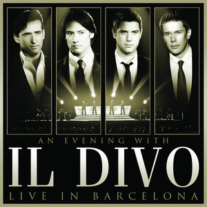 An Evening With Il Divo - Live in Barcelona Albumcover
