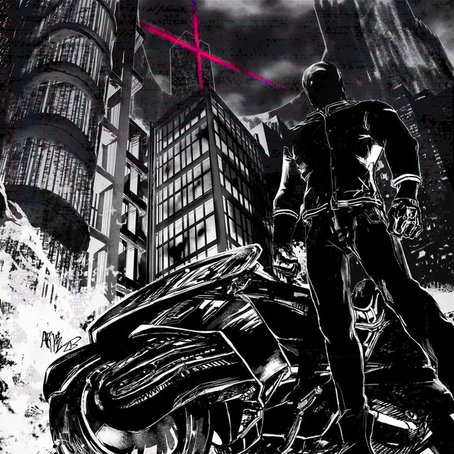 Album cover for The Uncanny Valley by Perturbator