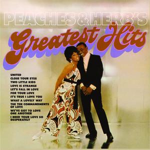 Peaches & Herb's Greatest Hits album