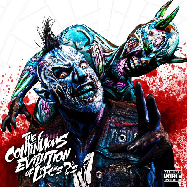 Album cover for The Continuous Evilution of Life's ?'s by Twiztid