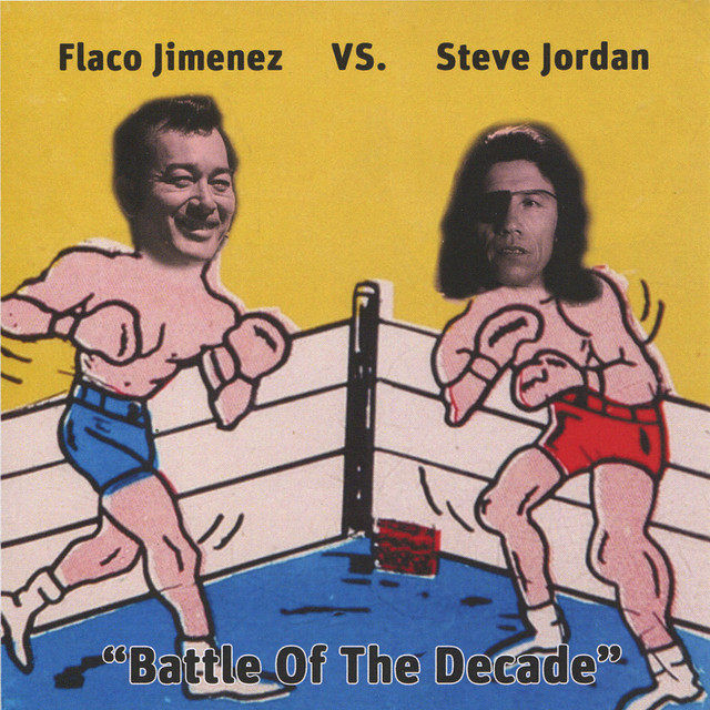 Flaco Jimenez vs. Steve Jordan - Battle of La Bamba