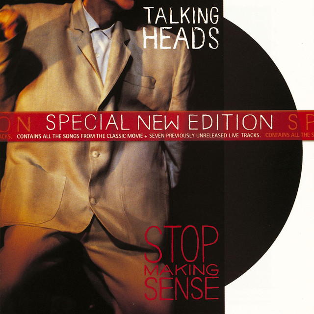 Talking Heads Stop Making Sense album cover