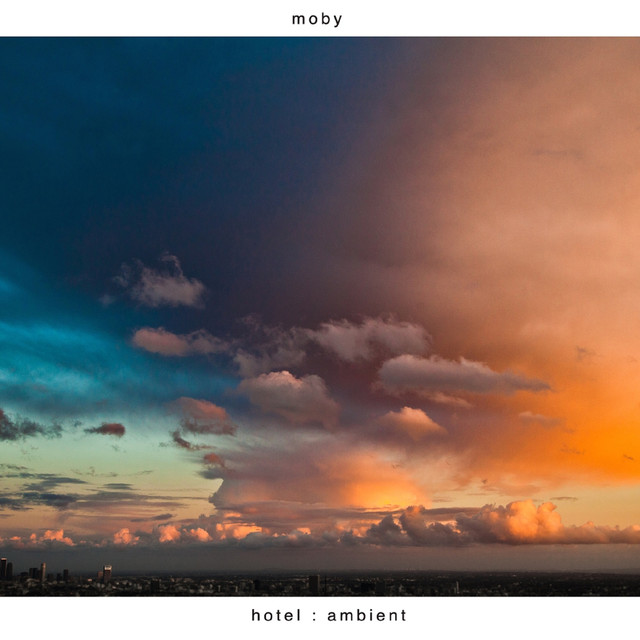 Album cover for Hotel Ambient by Moby