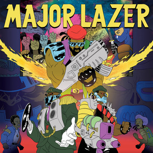 Album cover for Free The Universe by Major Lazer