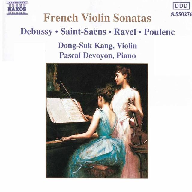 French Violin Sonatas Albumcover