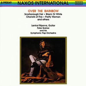 Lenka Filipová, Peter Breiner Over the Rainbow cover