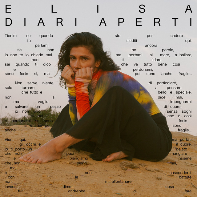 Album cover for Diari Aperti by Elisa