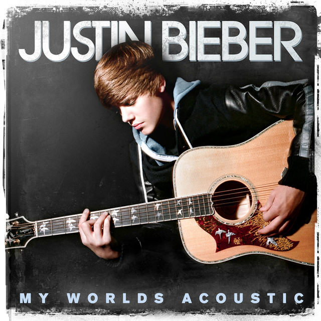 Justin Bieber My Worlds Acoustic album cover