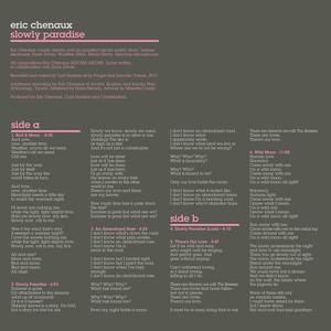 Eric Chenaux - Slowly Paradise
