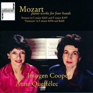 Mozart: Pianoworks for Four Hands Albumcover