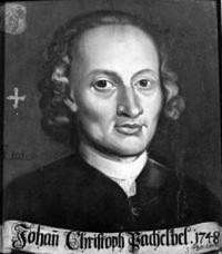 Picture of Johann Pachelbel