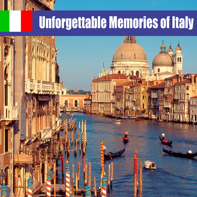 Various Artists Unforgettable Memories of Italy album cover