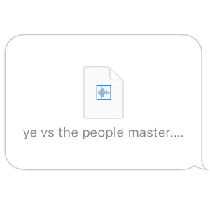 Ye vs. the People (starring TI as the People) Albümü