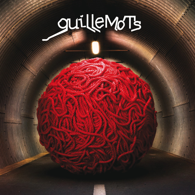 Album cover for Red by Guillemots