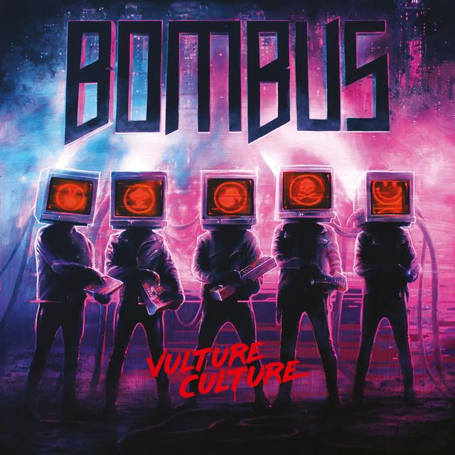 Skivomslag för Bombus: Vulture Culture