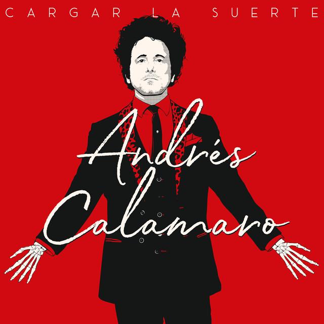 Album cover for Cargar La Suerte by Andrés Calamaro