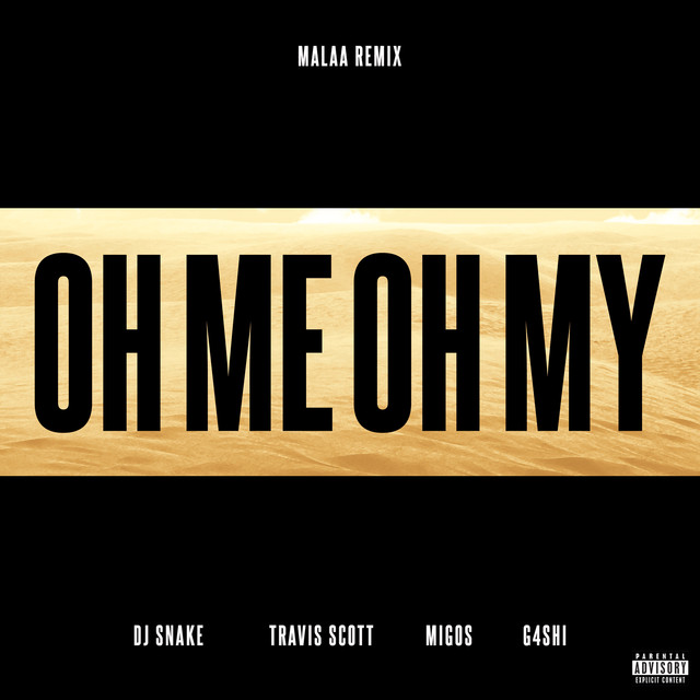 DJ Snake Oh Me Oh My (Malaa Remix) album cover