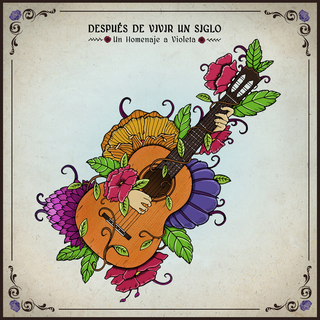 Album cover for Después de Vivir un Siglo by Various Artists