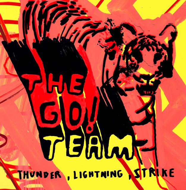 Album cover for Thunder, Lightning, Strike by The Go! Team