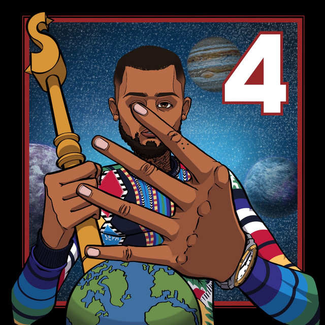 Album cover for 4 by Sepa