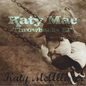 Katy Mac Throwbacks EP Albumcover