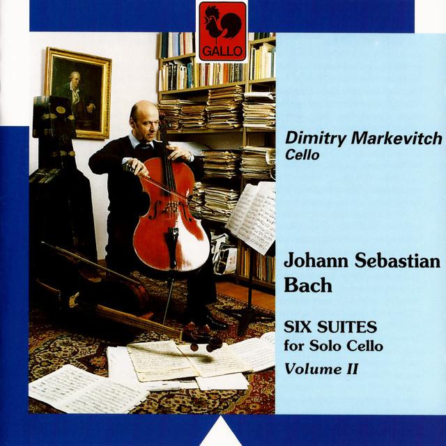 Bach: 6 Suites for Solo Cello, Vol. 2 Albumcover