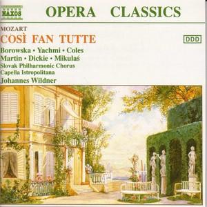 Mozart: Cosi Fan Tutte Albumcover