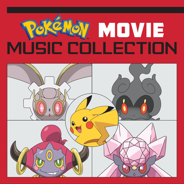 Album cover for Pokémon Movie Music Collection (Original Soundtrack) by Pokémon
