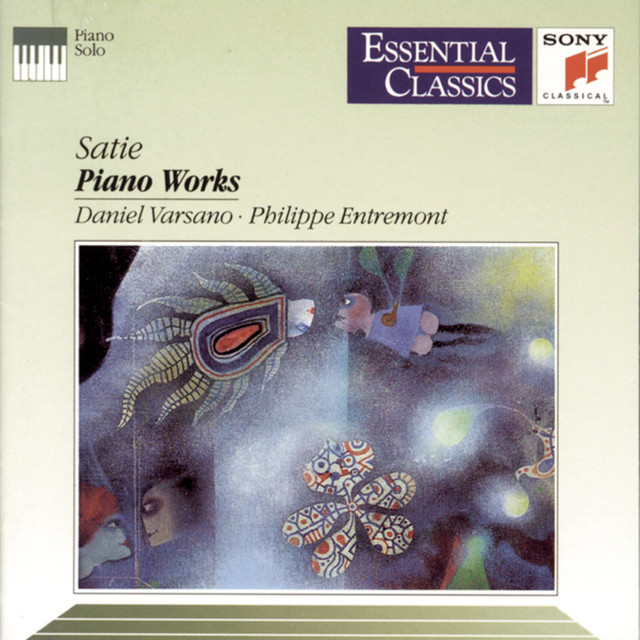 Satie: Piano Works Albumcover