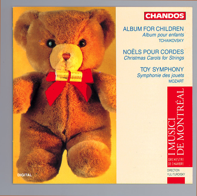 Tchaikovsky: Album for the Young / Belanger: Christmas Carols for Strings / Mozart, L.: Toy Symphony Albumcover