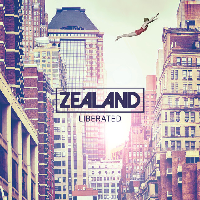 Album cover for LIBERATED by Zealand Worship