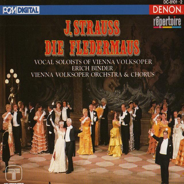 Johann Strauss: Die Fledermaus Albumcover