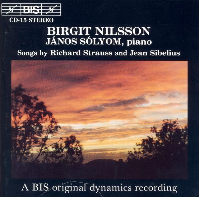 Strauss, R. / Sibelius: Songs Albumcover