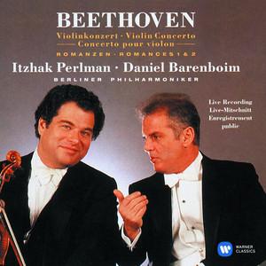 Beethoven: Violin Concerto & 2 Romances Albumcover
