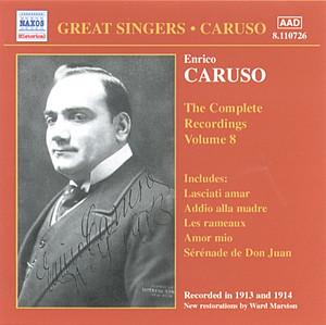 Caruso, Enrico: Complete Recordings, Vol. 8 (1913-1914) album