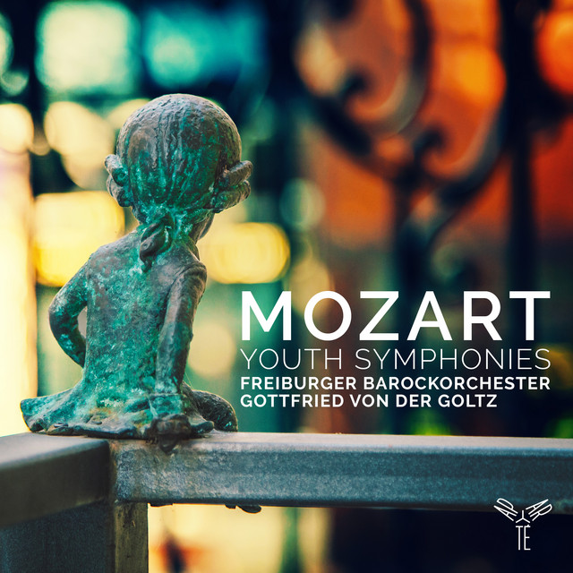 Album cover for Mozart, Youth Symphonies by Wolfgang Amadeus Mozart, Freiburger Barockorchester, Gottfried Von Der Goltz