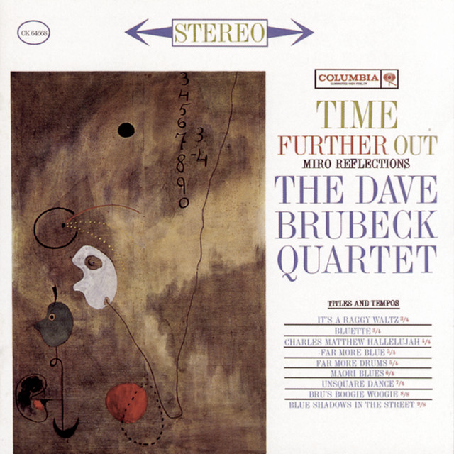 The Dave Brubeck Quartet Time Further Out album cover