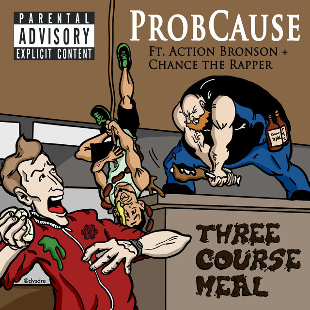 Three Course Meal (feat. Action Bronson & Chance the Rapper)