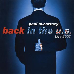 Back In The U.S. Albumcover