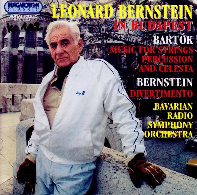 Leonard Bernstein in Budapest Albumcover