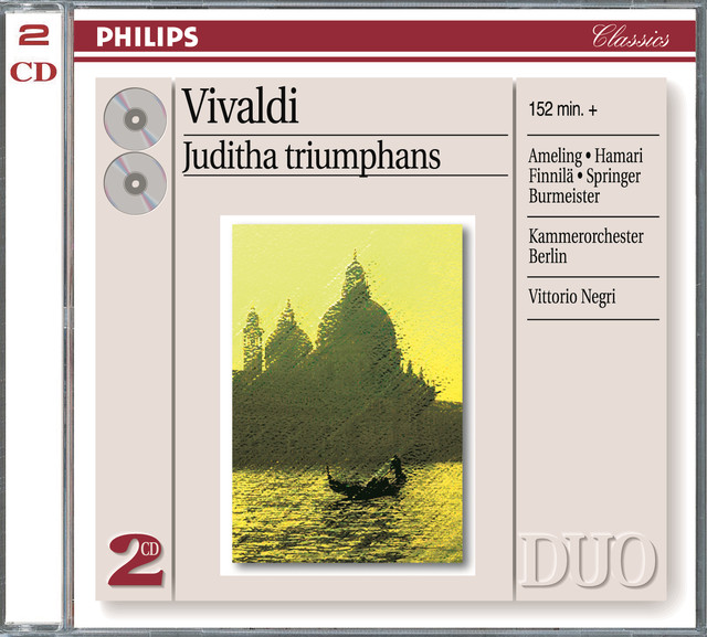Vivaldi: Juditha Triumphans (2 CDs)