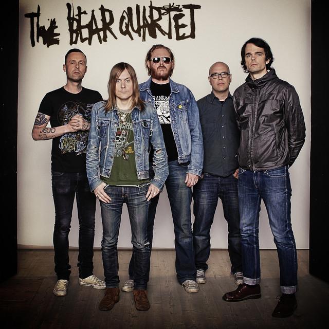 Skivomslag för Bear Quartet: Monty Python