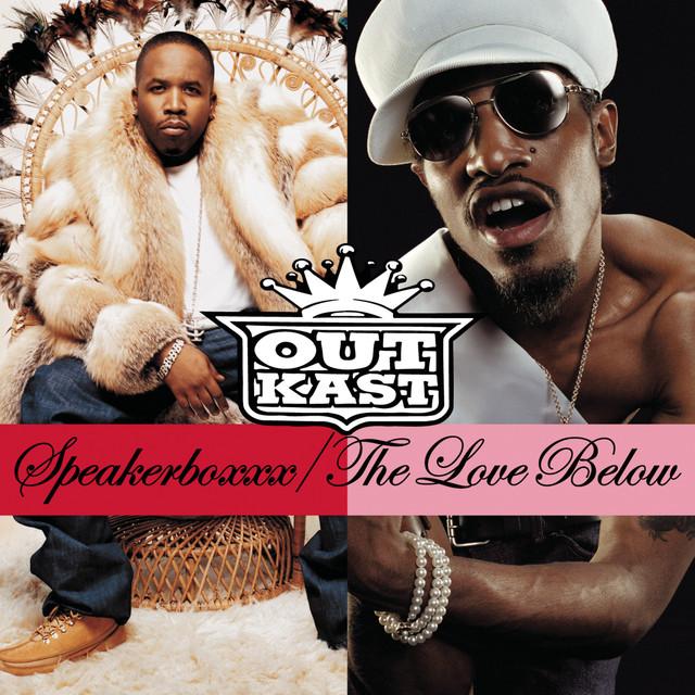 Skivomslag för Outkast: Speakerboxxx/The Love Below
