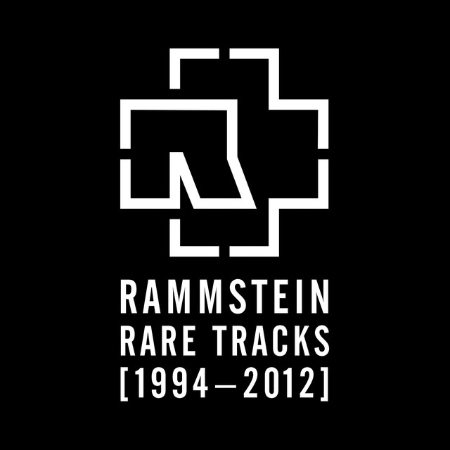 Rammstein RARE TRACKS 1994 - 2012 album cover