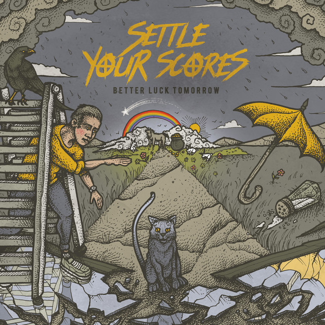 Album cover for Better Luck Tomorrow by Settle Your Scores