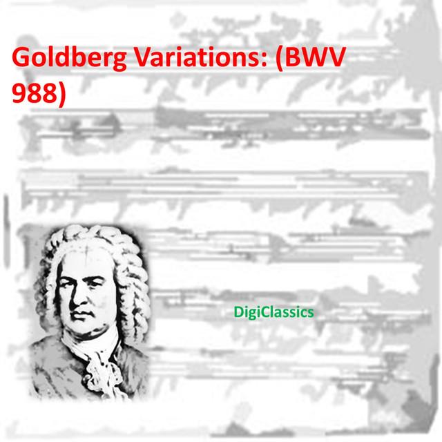 Bach: Goldberg Variations, BWV 988 Albumcover